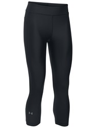 Under Armour Heatgear Capri Tights Black