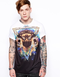 The Cuckoo's Nest The Cuckoos Nest T Shirt With Lion Print White