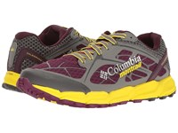 Columbia Caldorado Ii Dark Raspberry Autz Women's Running Shoes Red