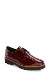Mephisto Women's Sabatina Oxford Wine Patent Leather