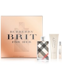 Burberry Brit For Women 3 Pc. Eau De Parfum Holiday Gift Set No Color