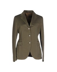 Tagliatore 02 05 Suits And Jackets Blazers Women Military Green