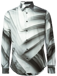 Christopher Kane Pages Print Shirt Grey