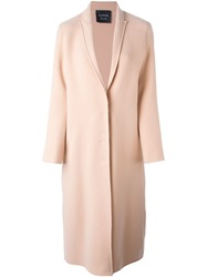 Lanvin Oversize Evening Coat Pink And Purple