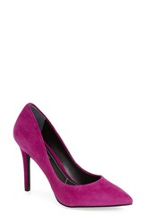 Women's Charles By Charles David 'Pact' Pump Magenta Suede
