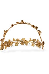 Jennifer Behr Rosalie Gold Plated Headband One Size