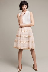 Tiny Deva Tiered Tulle Skirt Cream
