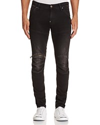 G Star Raw 5620 3D Zip Knee Super Slim Fit Jeans In Dark Aged
