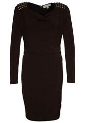 Michael Michael Kors Cocktail Dress Party Dress Brown