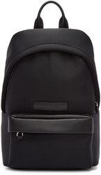 Mcq By Alexander Mcqueen Black Neoprene Backpack