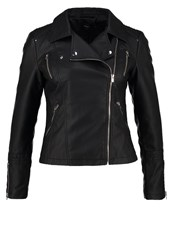 Only Onlsheena Faux Leather Jacket Black
