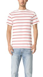 Native Youth Mersea Tee Off White Pink