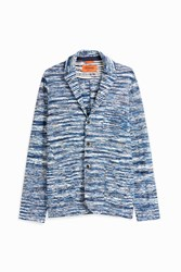 Missoni Men S Space Dye Blazer Boutique1 Blue