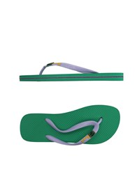 Fk Project F K Toe Strap Sandals Lilac