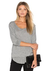 Feel The Piece Penelope Top Gray