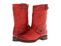 Frye Veronica Shortie Burnt Red Soft Vintage Leather Cowboy Boots