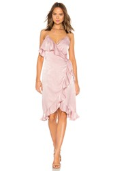 Donna Mizani Kate Midi Dress Pink