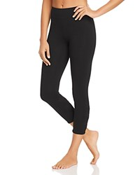 Marc New York Performance Strappy Cutout Cropped Leggings Black