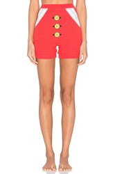 Wildfox Couture Mrs. Claus Shorts Red