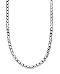 Macy's Men's Sterling Silver Necklace 22' Box Chain