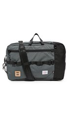 Topo Designs Travel Bag Black Charcoal