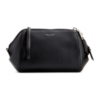 Marc Jacobs Doctor Leather Clutch Black Nickel