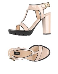Pinko Black Footwear Sandals Women Light Pink