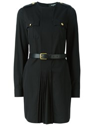 Dsquared2 'Military' Dress Black