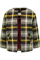 Stella Jean Checked Boucle Jacket Multi
