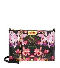 Ted Baker Dilalah Leather Cross Body Bag Female Black
