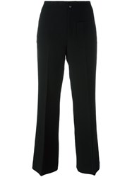 Helmut Lang Flared Trousers Black