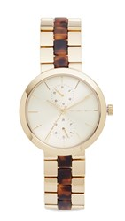 Michael Kors Garner Watch Gold Tortoise
