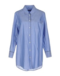 New York Industrie Shirts Pastel Blue