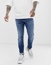 G Star Revend Skinny Fit Jeans In Medium Aged Blue
