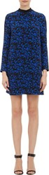 A.L.C. Isley Print Double Layer Tunic Dress Blue Size 0 Us