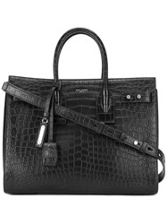 Saint Laurent Sac De Jour Tote Leather Black