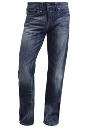 True Religion Geno Slim Fit Jeans Destroyed Denim