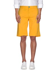 Magazzini Del Sale Trousers Bermuda Shorts Men Yellow