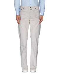 Pt05 Trousers Casual Trousers Men White