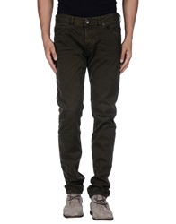 Diesel Black Gold Casual Pants Military Green