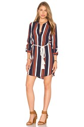 Tularosa James Shirt Dress Navy
