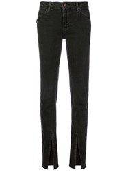Zadig And Voltaire Evin Slit Cuff Jeans Black