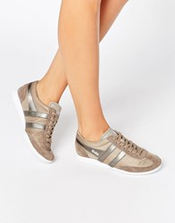 Gola Wasp Shimmer Runner Trainer Paloma Silver Beige