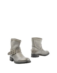 Htc Ankle Boots Grey