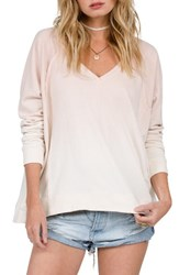 Volcom Women's Living Coral Ombre Pullover