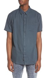 Imperial Motion Circuit Woven Shirt Dark Teal