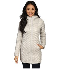 The North Face Thermoball Hooded Parka Dove Grey Women's Coat Gray