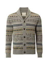 White Stuff Science Shawl Cardi Grey