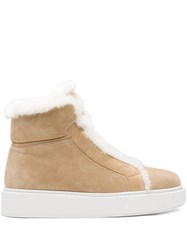 Prada Shearling Ankle Length Boots 60