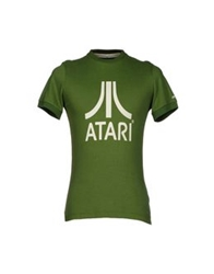 Atelier Fixdesign T Shirts Military Green
